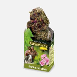 rosenhjerter kornfri godbidder kanin