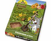urteeng med blomster kaniner