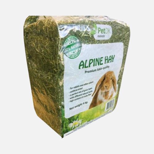 alpine hø til kaniner