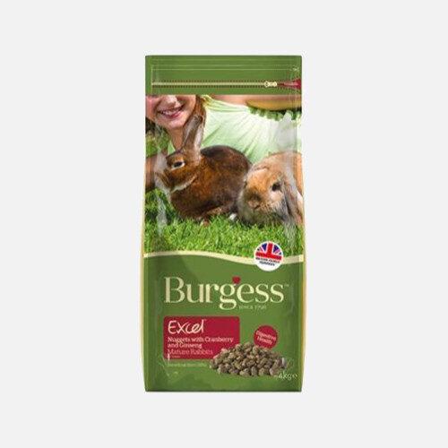 burgess excel mature tranebær og ginseng til ældre kaniner