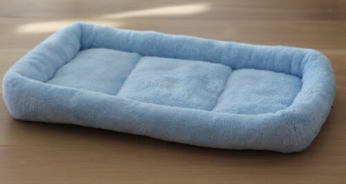 kanin madras blå 3