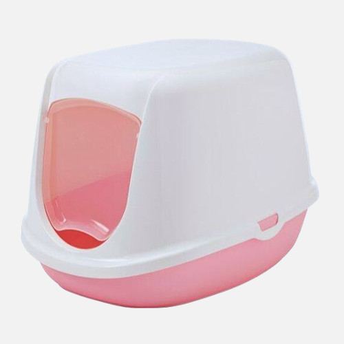 kanin toilet lyserød